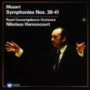 Cover-Bild zu Harnoncourt, Nikolaus: Sinfonien 38-41