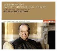 Cover-Bild zu Harnoncourt, Nikolaus (Komponist): KulturSPIEGEL:Die besten guten -Pariser Sinf.82/83