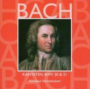 Cover-Bild zu Harnoncourt, Nikolaus: Kantaten Vol.7-BWV20 & 21