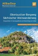 Cover-Bild zu Wanderführer Oberlausitzer Bergweg . Sächsischer Weinwanderweg. 1:35'000 von Verlag, Esterbauer (Hrsg.)