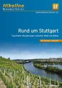 Cover-Bild zu Wanderführer Rund um Stuttgart. 1:35'000 von Malecha, Sabine