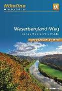 Cover-Bild zu Wanderführer Weserbergland-Weg. 1:35'000 von Verlag, Esterbauer (Hrsg.)