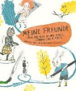 Cover-Bild zu Meine Freunde - zum Eintragen mit Pinsel, Stempel, Kleber von Palmtag, Nele (Illustr.)