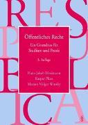 Cover-Bild zu Öffentliches Recht von Mosimann, Hans-Jakob