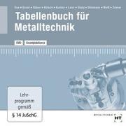 Cover-Bild zu Tabellenbuch für Metalltechnik von Dax, Wilhelm