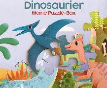 Cover-Bild zu Meine Puzzle-Box Dinosaurier von Gazzola, Ronny (Illustr.)