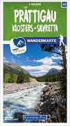 Cover-Bild zu Hallwag Kümmerly+Frey AG (Hrsg.): Prättigau 23 Wanderkarte 1:40 000 matt laminiert. 1:40'000