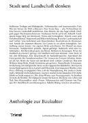 Cover-Bild zu Baumgarten, Elias (Hrsg.): Stadt und Landschaft denken