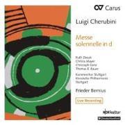 Cover-Bild zu Messe solennelle Nr. 2 in D von Cherubini, Luigi (Komponist)