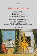Cover-Bild zu Nietzsche, Friedrich: Morgenröte. Idyllen aus Messina. Die fröhliche Wissenschaft
