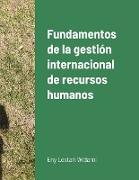 Cover-Bild zu Bawono, Suryaning: Fundamentos de la gestión internacional de recursos humanos