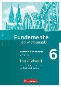 Cover-Bild zu Krüger, Sabine: Fundamente der Mathematik, Nordrhein-Westfalen, 6. Schuljahr, Serviceband, Mit Arbeitsblättern, täglichen Übungen und Selbsteinschätzungsbögen