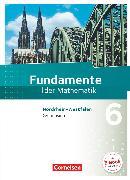 Cover-Bild zu Andreae, Kathrin: Fundamente der Mathematik, Nordrhein-Westfalen, 6. Schuljahr, Schülerbuch