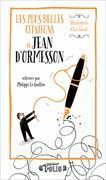 Cover-Bild zu Ormesson, d': Les élégances de Jean d'Ormesson relevées par Philippe Le Guillou
