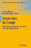 Cover-Bild zu Altmann, Andreas (Hrsg.): Universities in Change