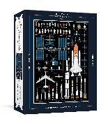 Cover-Bild zu The History of Space Travel Puzzle von Pop Chart Lab
