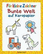 Cover-Bild zu Pautner, Norbert: Für kleine Zeichner - Bunte Welt auf Karopapier