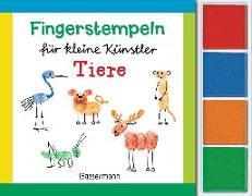 Cover-Bild zu Pautner, Norbert: Fingerstempeln für kleine Künstler-Set - Tiere