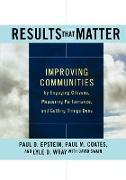 Cover-Bild zu Epstein, Paul D.: Results That Matter