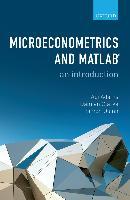 Cover-Bild zu Adams, Abi: Microeconometrics and MATLAB: An Introduction (eBook)