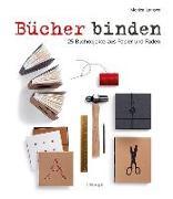Cover-Bild zu Bücher binden von Langwe, Monica