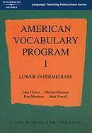 Cover-Bild zu Powell, Mark: American Vocabulary Program 1
