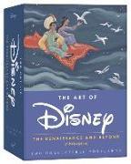 Cover-Bild zu The Art of Disney Postcards