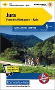 Cover-Bild zu Jura-Franches Montagnes-Ajoie Wanderkarte Nr. 3. 1:60'000 von Hallwag Kümmerly+Frey AG (Hrsg.)
