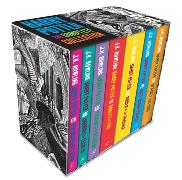 Cover-Bild zu Rowling, J.K.: Harry Potter Boxed Set: The Complete Collection (Adult Paperback)