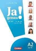 Cover-Bild zu Böschel, Claudia: Ja genau!, Deutsch als Fremdsprache, A2: Band 1, Kurs- und Übungsbuch mit Lösungsbeileger und Audio-CD