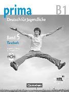 """Cover-Bild zu Giersberg, Dagmar: Prima - Deutsch für Jugendliche, Bisherige Ausgabe, B1: Band 5, Testheft mit Modelltest """"Zertifikat Deutsch für Jugendliche"""", Mit Audio-CD und Kopiervorlagen"""