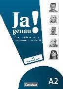 Cover-Bild zu Böschel, Claudia: Ja genau!, Deutsch als Fremdsprache, A2: Band 1 und 2, Handreichungen für den Unterricht mit Kopiervorlagen