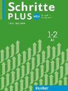 Cover-Bild zu Giersberg, Dagmar: Schritte plus Neu 1+2. Testtrainer mit Audio-CD