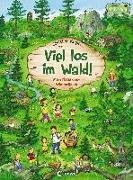 Cover-Bild zu Kugler, Christine (Illustr.): Viel los im Wald!