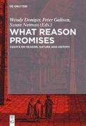 Cover-Bild zu Doniger, Wendy (Hrsg.): What Reason Promises