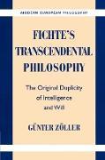 Cover-Bild zu Zvller, G]nter: Fichte's Transcendental Philosophy
