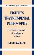 Cover-Bild zu Zoller, Gunter: Fichte's Transcendental Philosophy