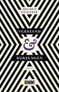 Cover-Bild zu Krausser, Helmut: Verstand und Kürzungen