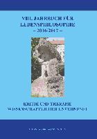 Cover-Bild zu Hasse, Jürgen (Hrsg.): VIII. Jahrbuch für Lebensphilosophie 2016/2017