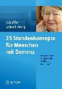 Cover-Bild zu Schloffer, Helga: 23 Stundenkonzepte für Menschen mit Demenz (eBook)