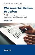 Cover-Bild zu Theisen, Manuel René: Wissenschaftliches Arbeiten