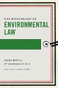 Cover-Bild zu eBook The Psychology of Environmental Law