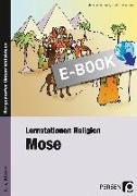 Cover-Bild zu Behrendt, Melanie: Lernstationen Religion: Mose (eBook)