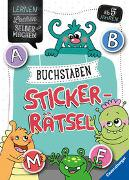 Cover-Bild zu Jebautzke, Kirstin: Buchstaben-Sticker-Rätsel