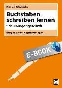 Cover-Bild zu Jebautzke, Kirstin: Buchstaben schreiben lernen - SAS (eBook)
