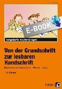 Cover-Bild zu Jebautzke, Kirstin: Von der Grundschrift zur lesbaren Handschrift (eBook)