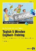 Cover-Bild zu Jebautzke, Kirstin: Täglich 5 Minuten Englisch-Training (eBook)