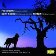 Cover-Bild zu Peter und der Wolf / Der Karneval der Tiere / Kindersinfonie von Prokofjew, Sergei (Komponist)