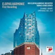 Cover-Bild zu Elbphilharmonie First Recording - Symphonies Nos. 3 & 4 von Brahms, Johannes (Komponist)