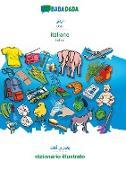 Cover-Bild zu BABADADA, Urdu (in arabic script) - italiano, visual dictionary (in arabic script) - dizionario illustrato von Babadada Gmbh